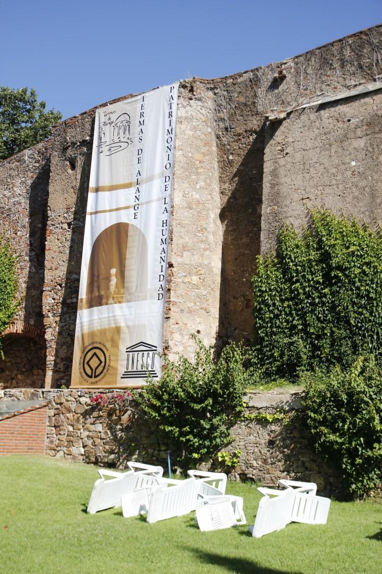 Balneario de Alange, Patrimonio de la Humanidad