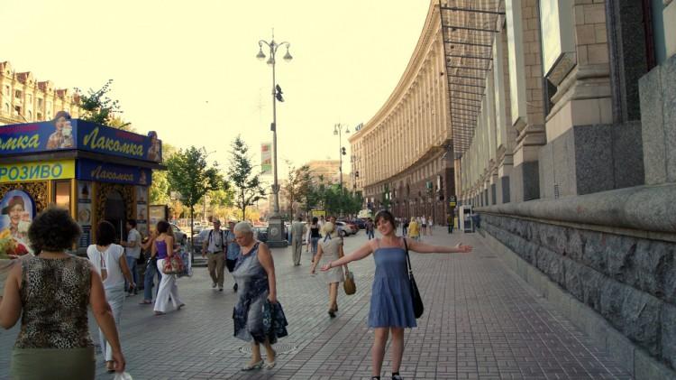 Khreschatyk: calle principal de kiev