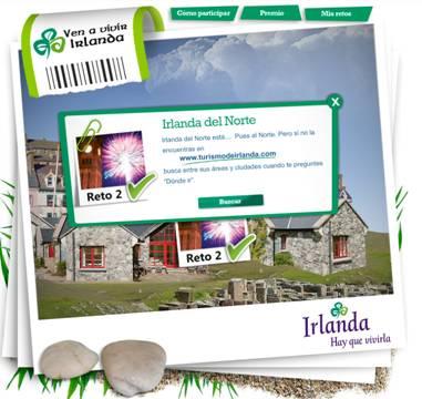 concurso para viajar a Irlanda