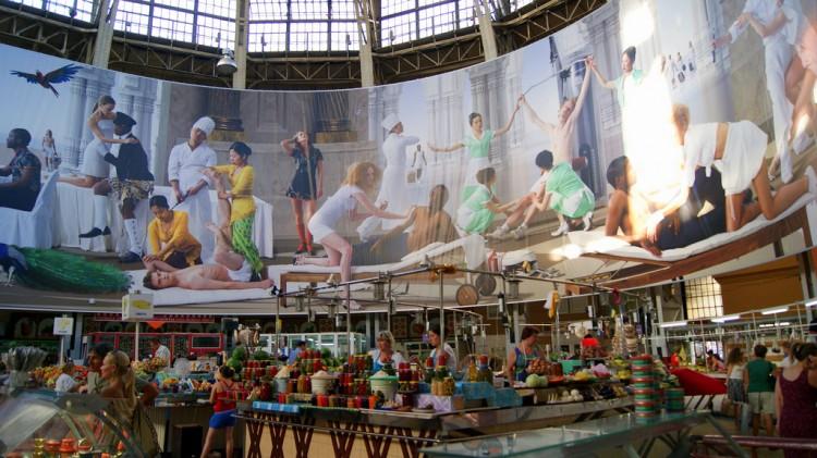 mercado central de Kiev