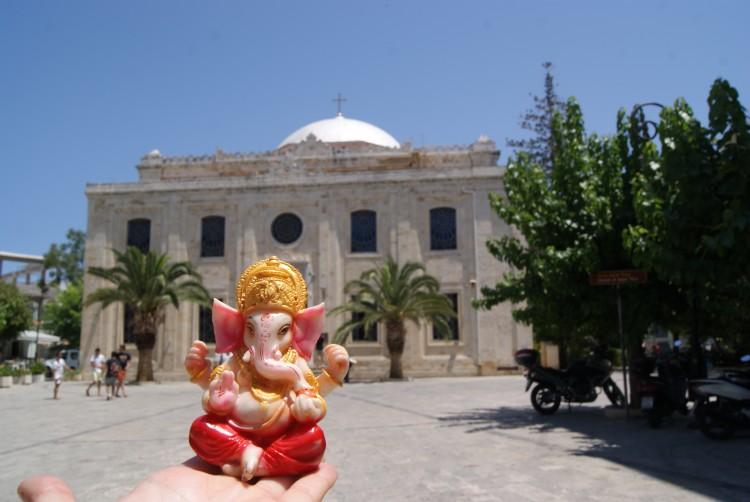 Ganesh en Creta