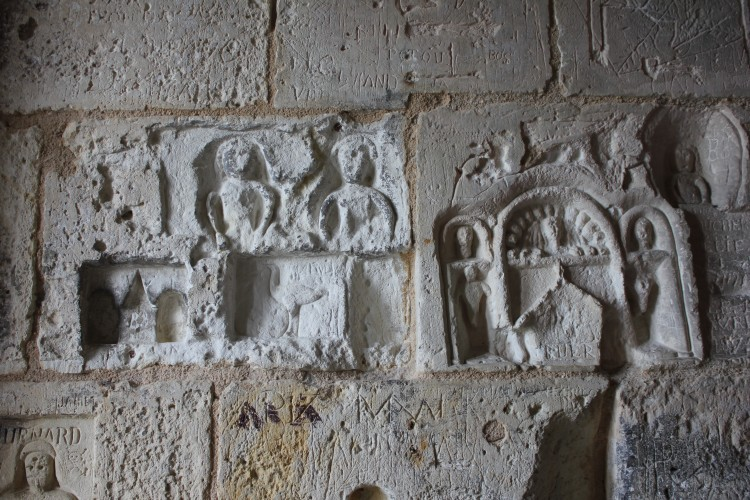 graffitis de la torre de la linterna