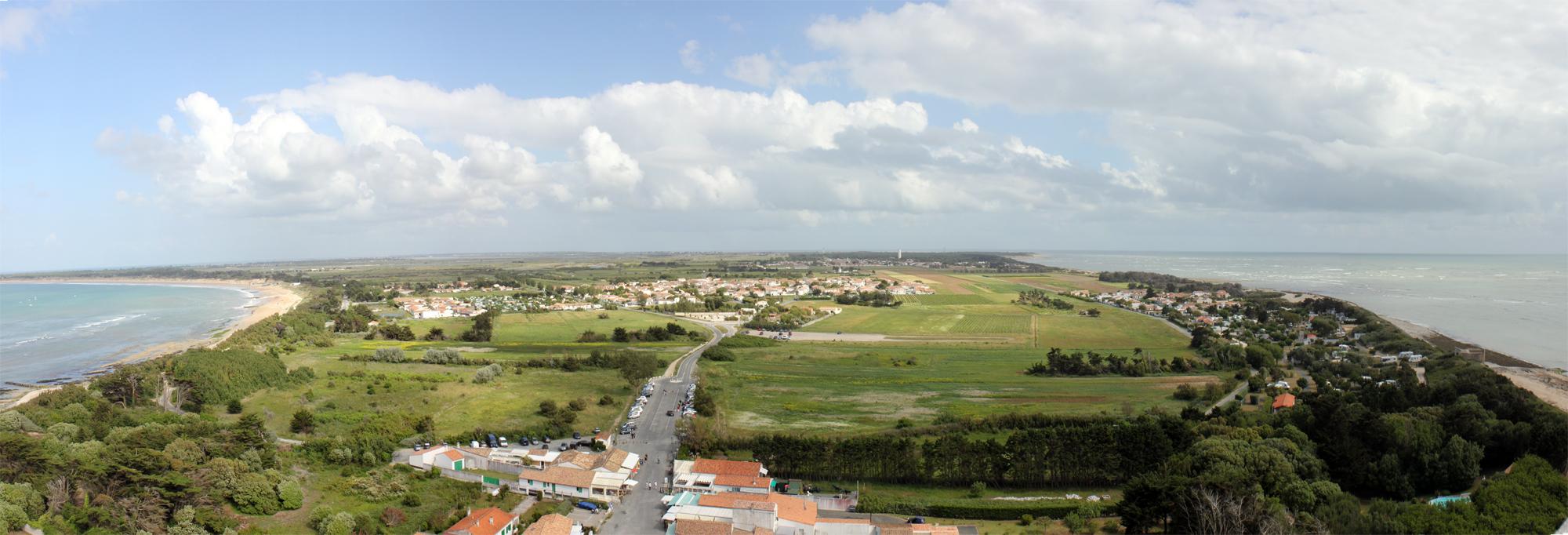 panorama isla de re