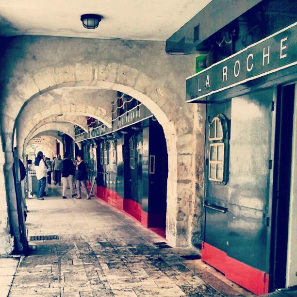 soportales de La Rochelle