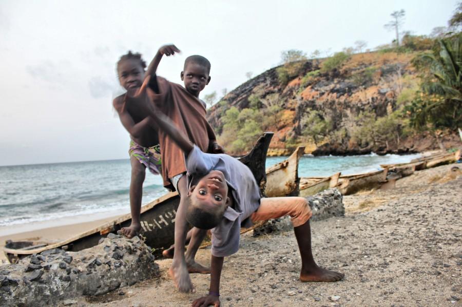 Niños de África