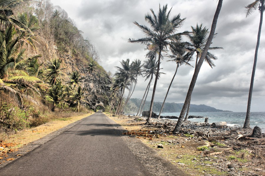 Carretera de Santo Tomé y Príncipe