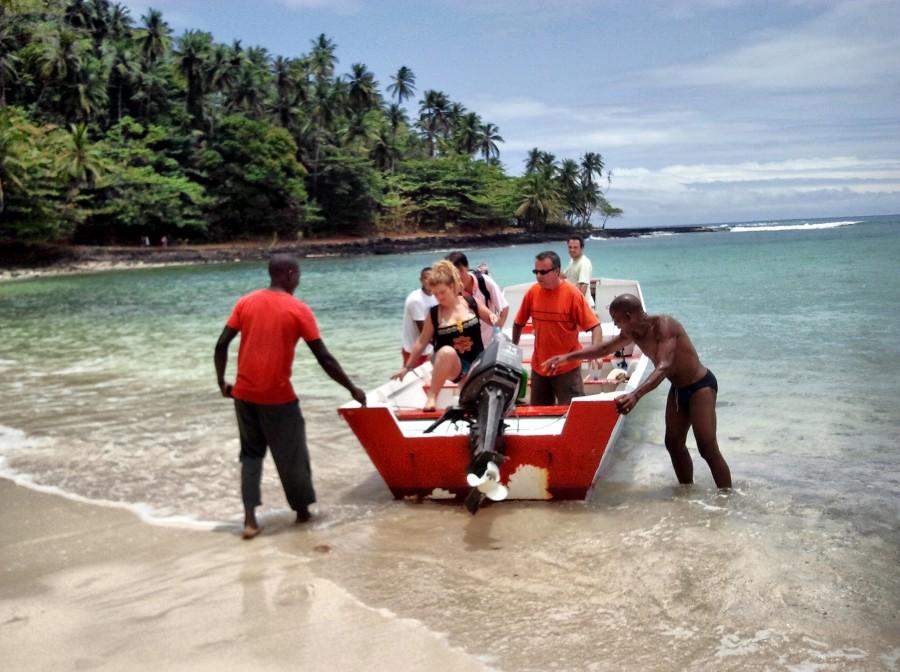 barco a la isla de rolas