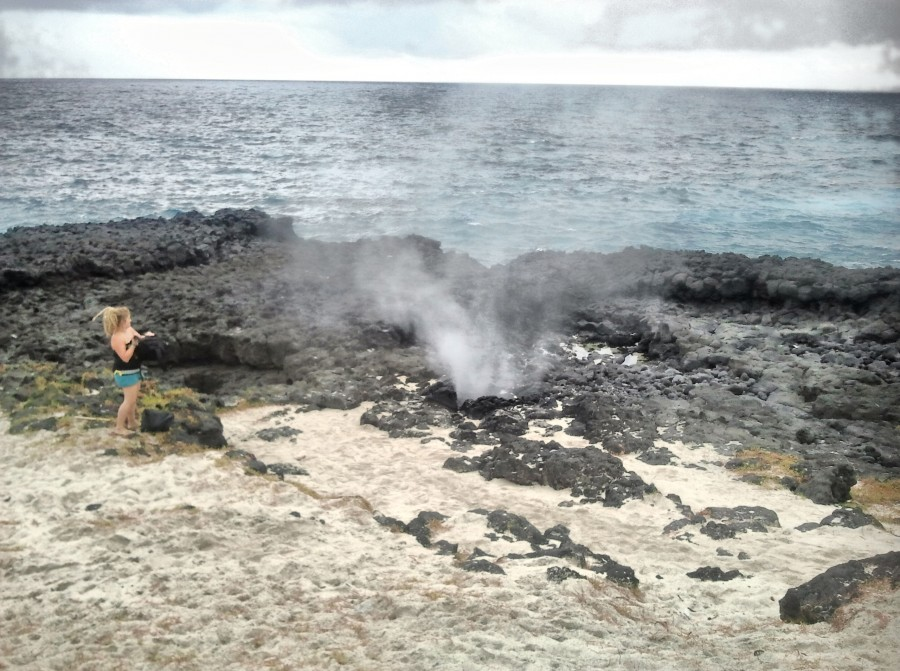 crater de la isla de rolas