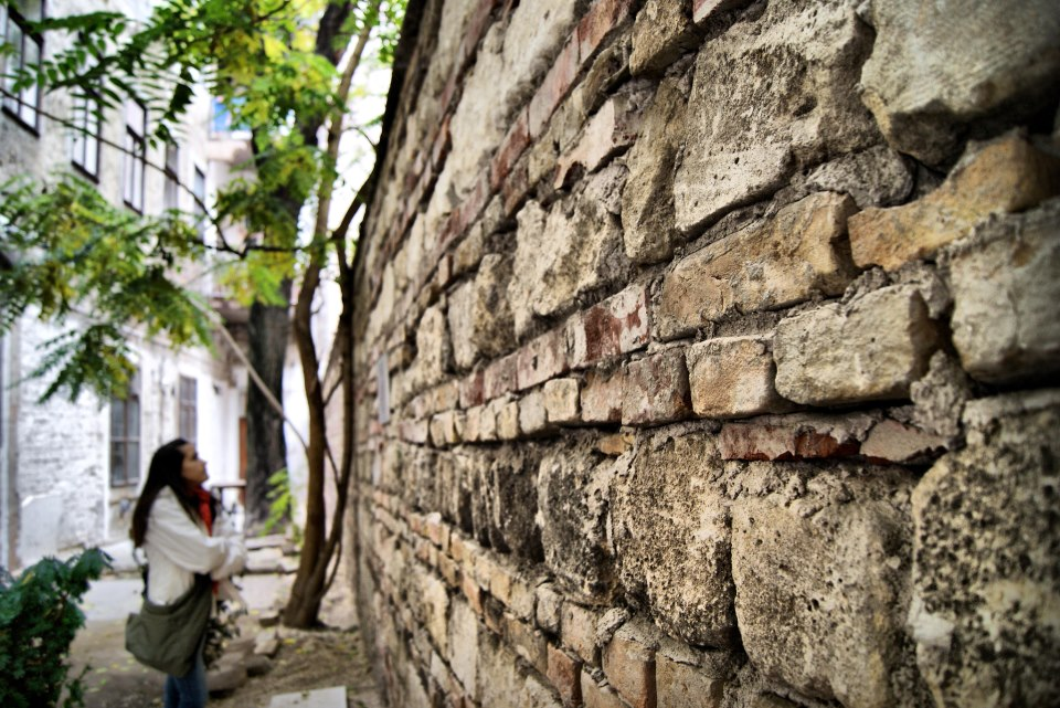 muro del guetto de budapest