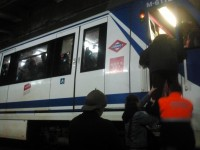 desalojo del metro
