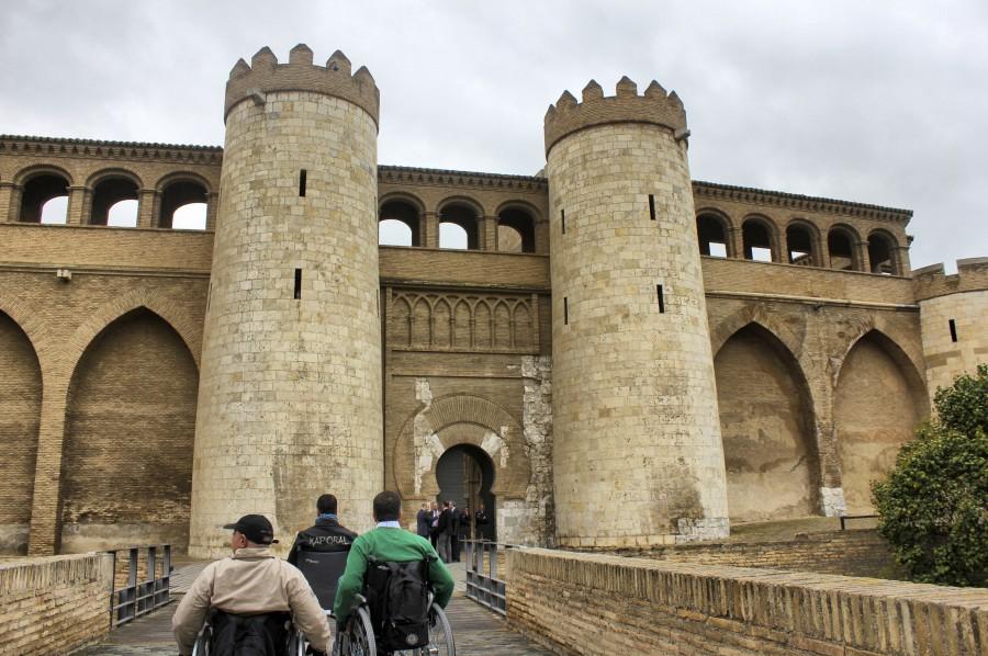 La Aljafería, ejemplo de arquitectura musulmana de Zaragoza