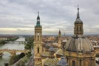 vistas desde la torre del pilar