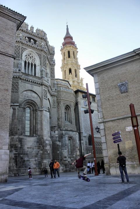 La Seo, ejemplo de arte mudéjar, Patrimonio de la Humanidad por la UNESCO
