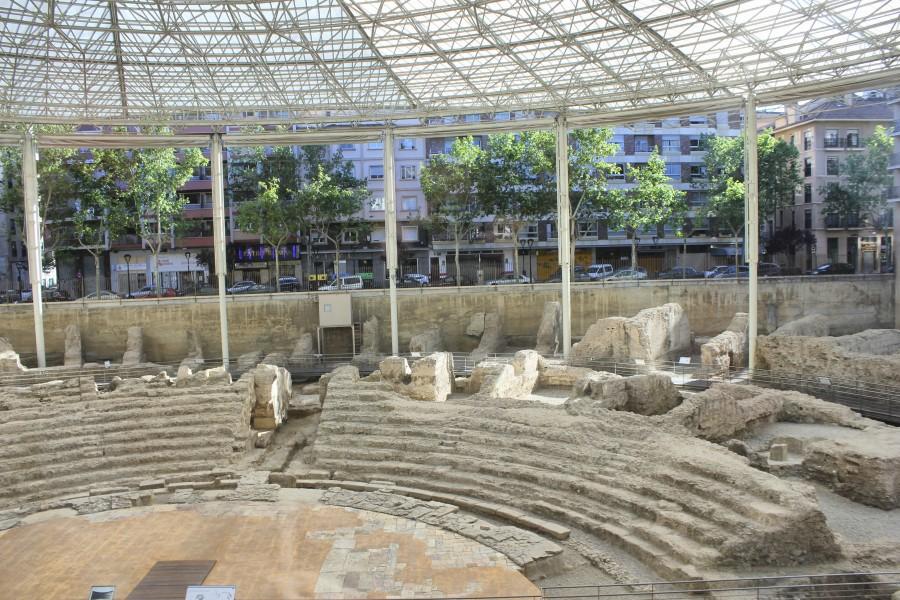 Teatro romano de Caesar Augusta