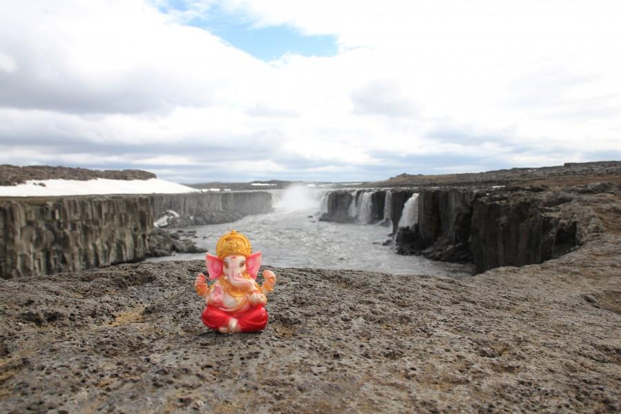 Ganesh en Islandia