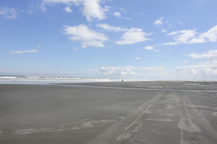Una de las playas más anchas de Europa se encuentra en la isla de Schiermonnikoog