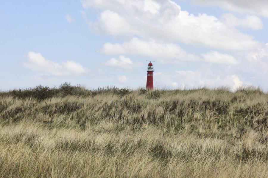 Un fotogénico faro de la isla
