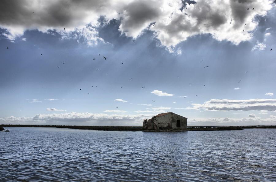 Caseta de los guardianes del mar que tenían que pasar temporadas sin luz ni calefacción