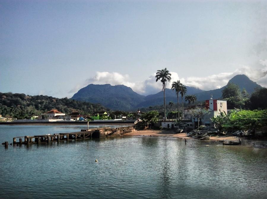Santo Antonio, la capital de Principe