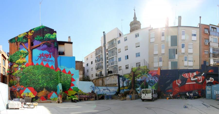 El Niño de las Pinturas y Popay calle las mas