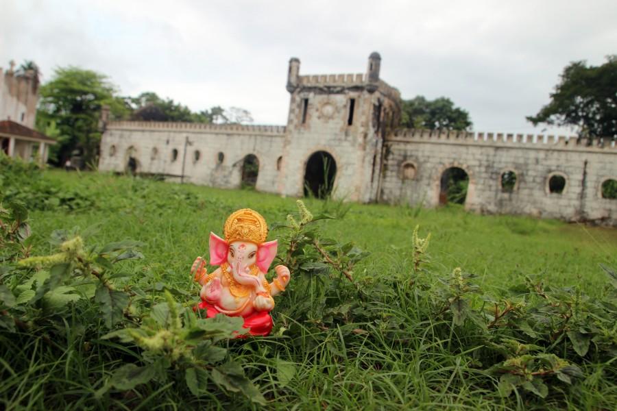 Ganesh en Isla de Príncipe