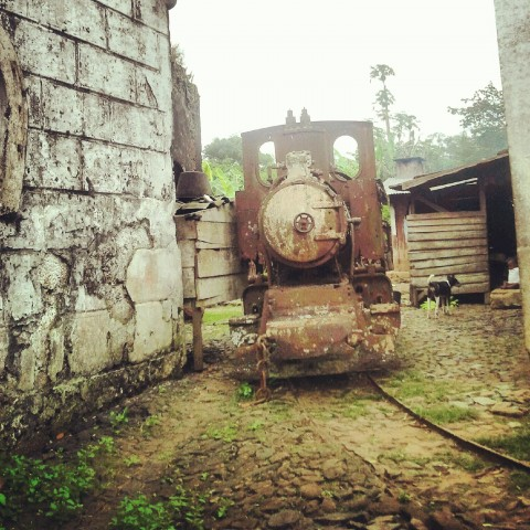 ferrocarril de la epoca colonial portuguesa
