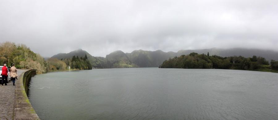 panoramica lago verde