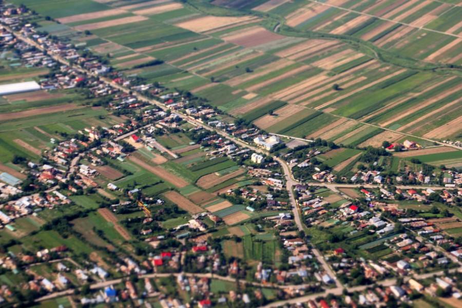 aterrizando en Rumanía