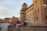 Ferrara se viste de medieval, Italia