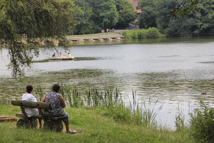 Un lago del Astra Museum