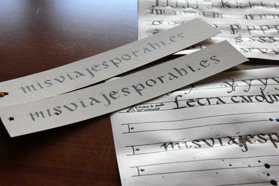 taller de caligrafia carolingia