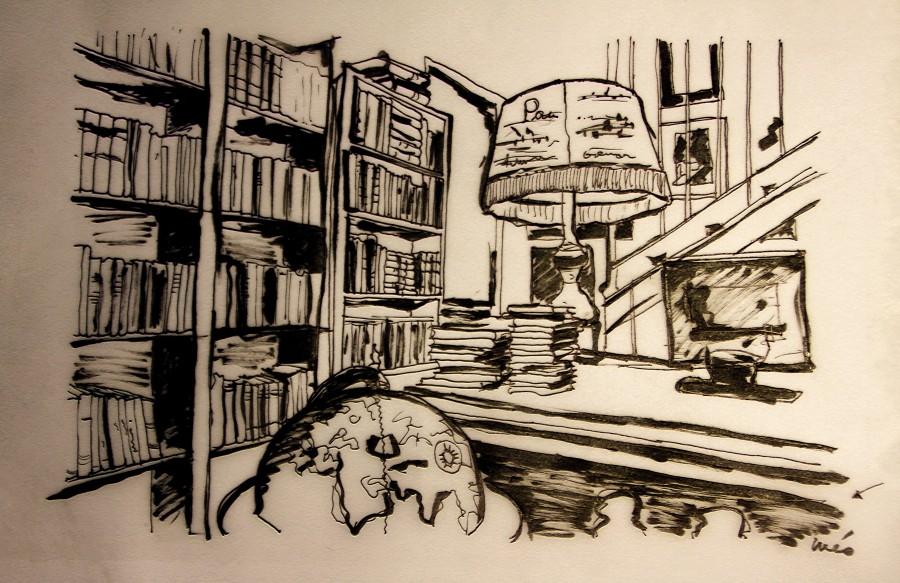 libreria dibujo