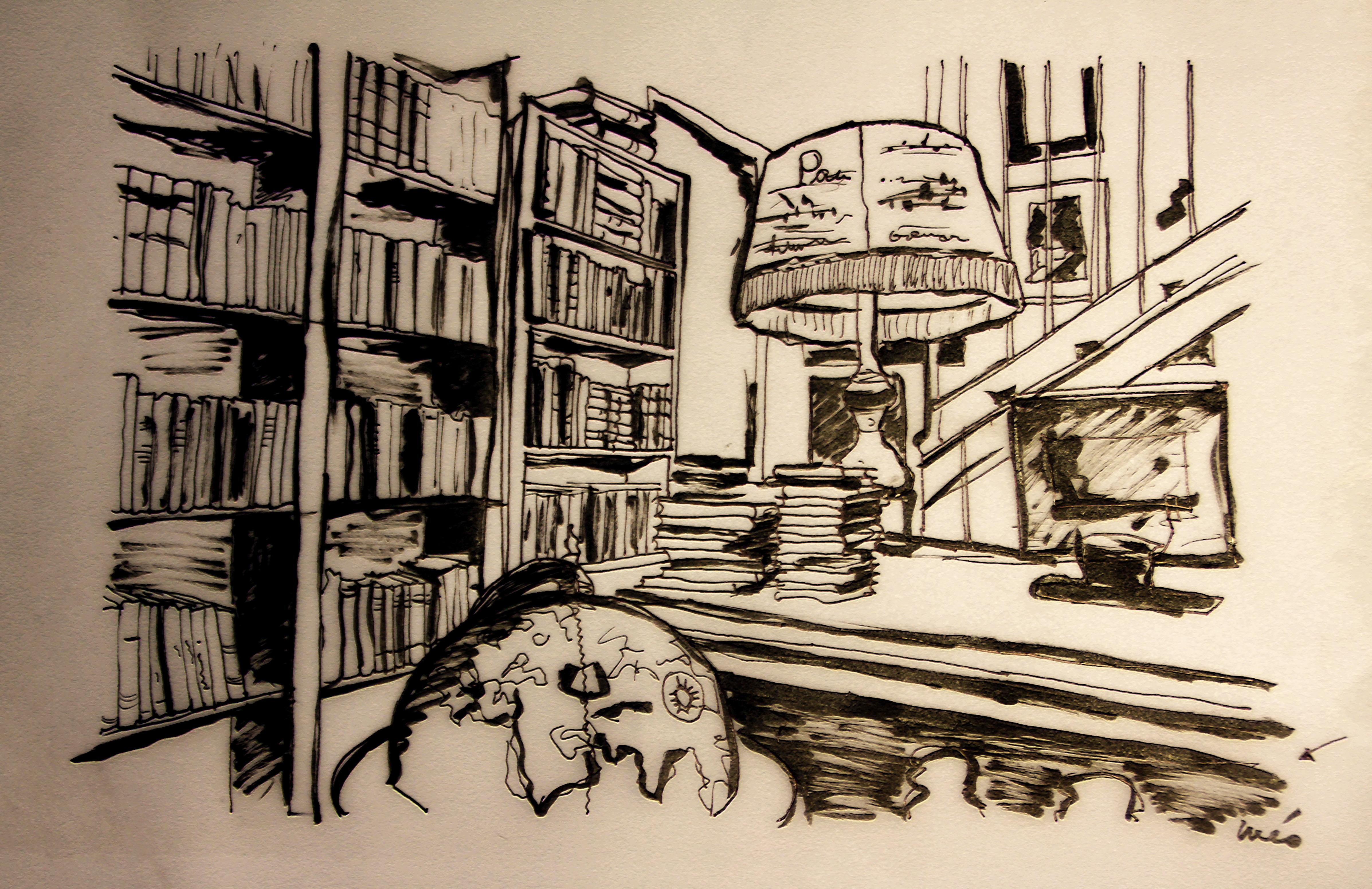 Valladolid urue a en dibujos mis viajes por ah mis - Imagenes de librerias ...