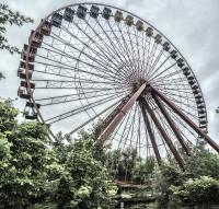 Spreepark. Un parque de atracciones abandonado en Berlín.