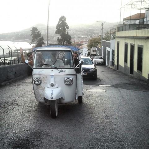 En tuk tuk por Funchal