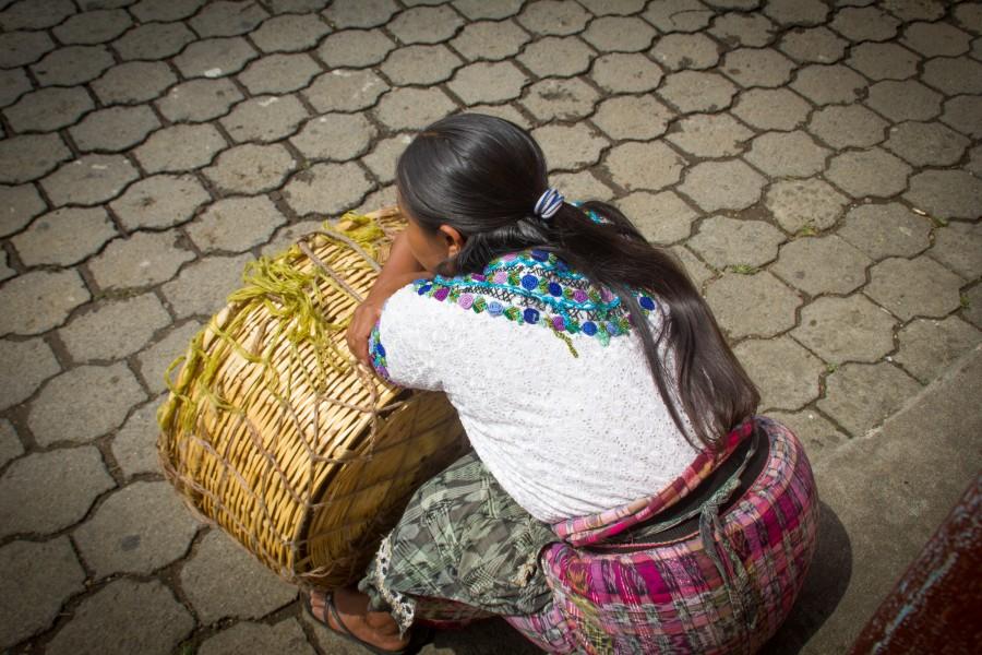 mujer de Guatemala