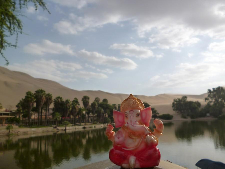 Ganesh en Huacachina