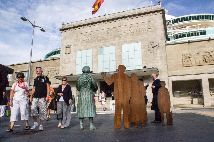 Monumento a los emigrantes gallegos