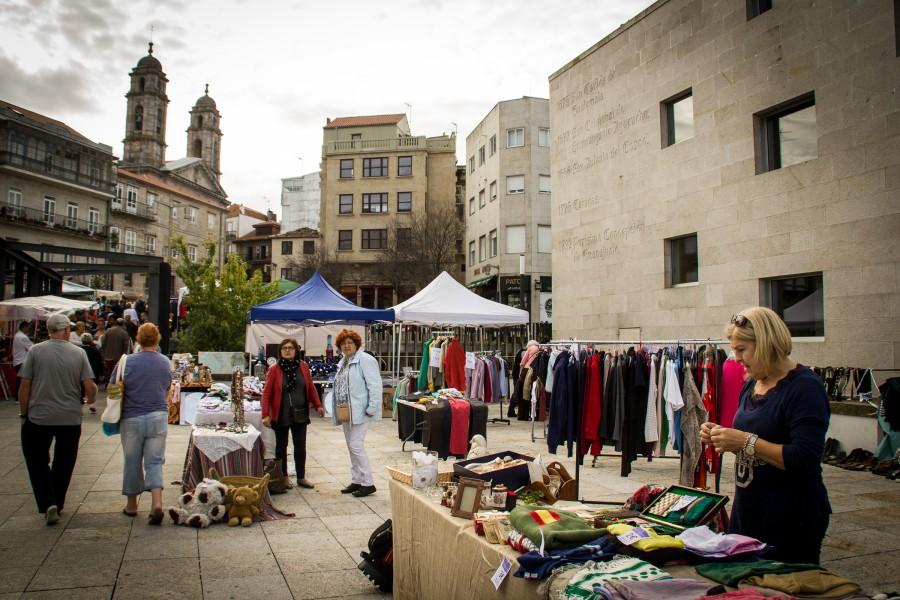 Mercado de segunda mano en Vigo