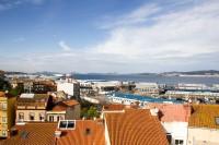 Vistas desde el olivo centenario de Vigo