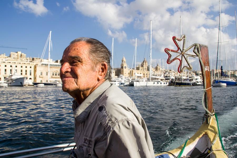 Simpático marinero maltés