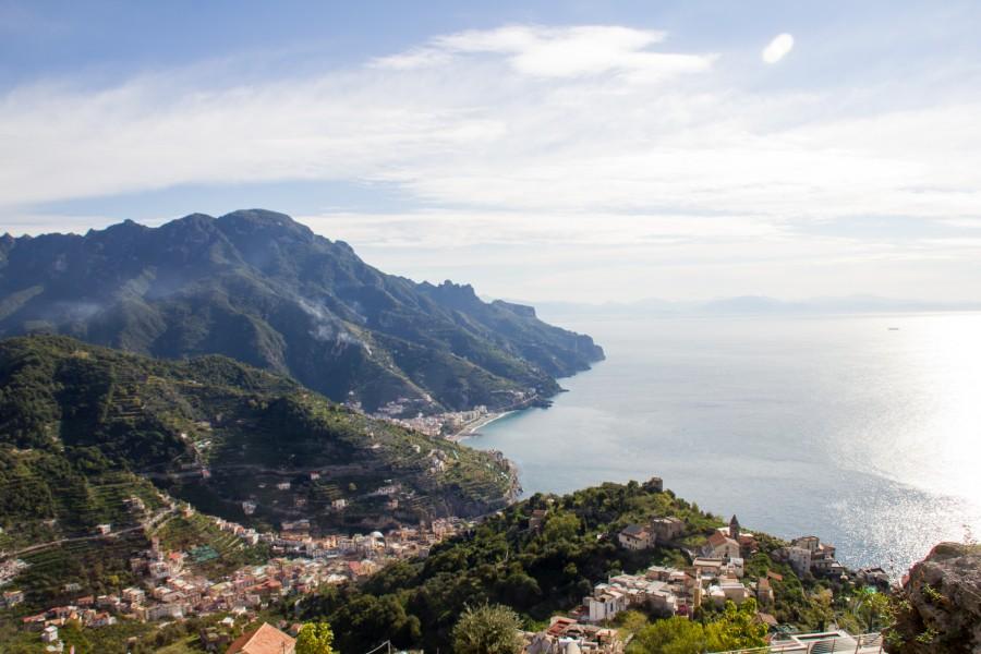 La belleza de la costa Amalfitana en Italia