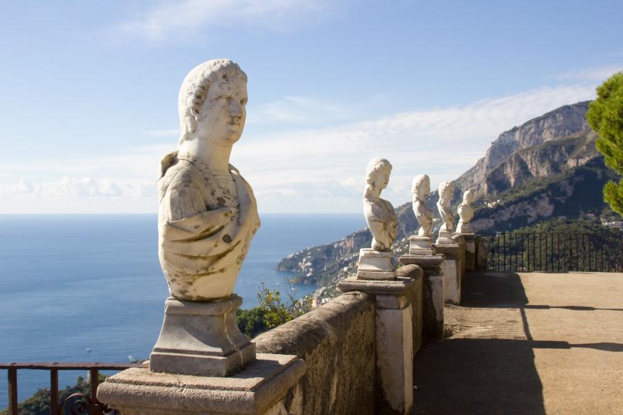 Ravello y los jardines de la Villa Cimbrone