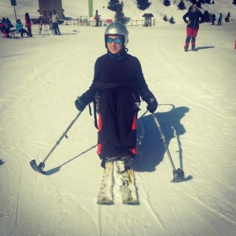 esqui adaptado cerler