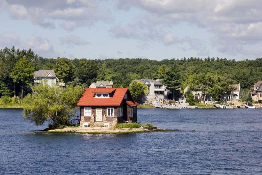 thousand islands canada lake