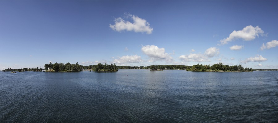 thousand islands panorama