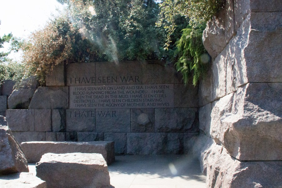 frankiln roosevelt memorial
