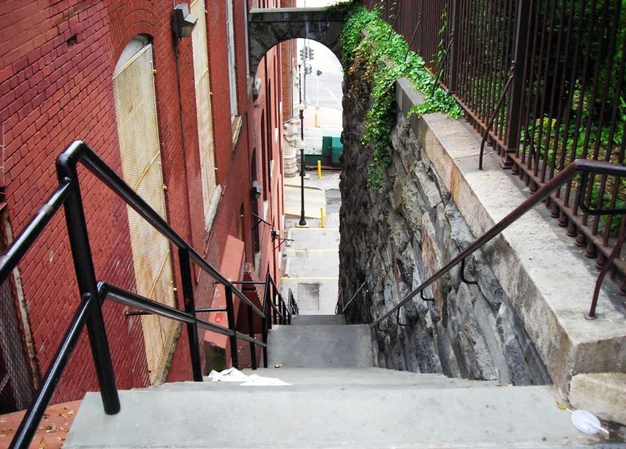 escaleras exorcista