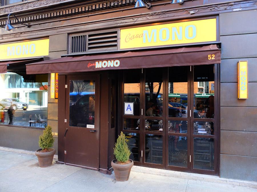 Casa Mono en Nueva York