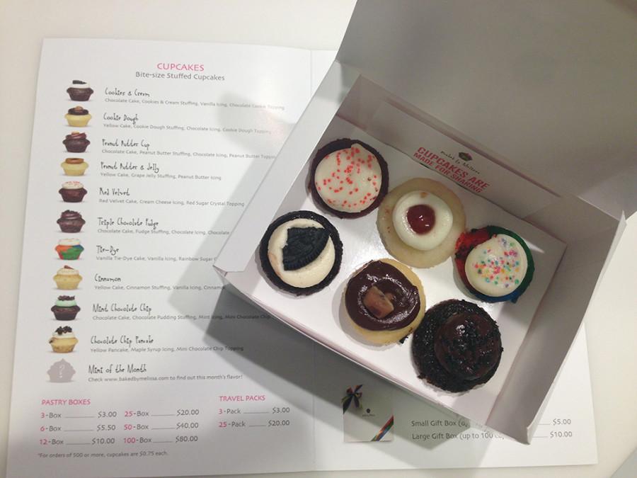 Cupcakes de Baked by Melissa en Nueva York